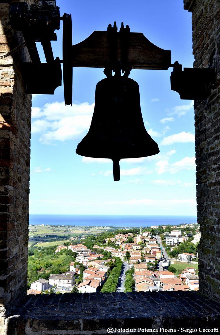 Dalla cima della Torre Civica di #PotenzaPicena