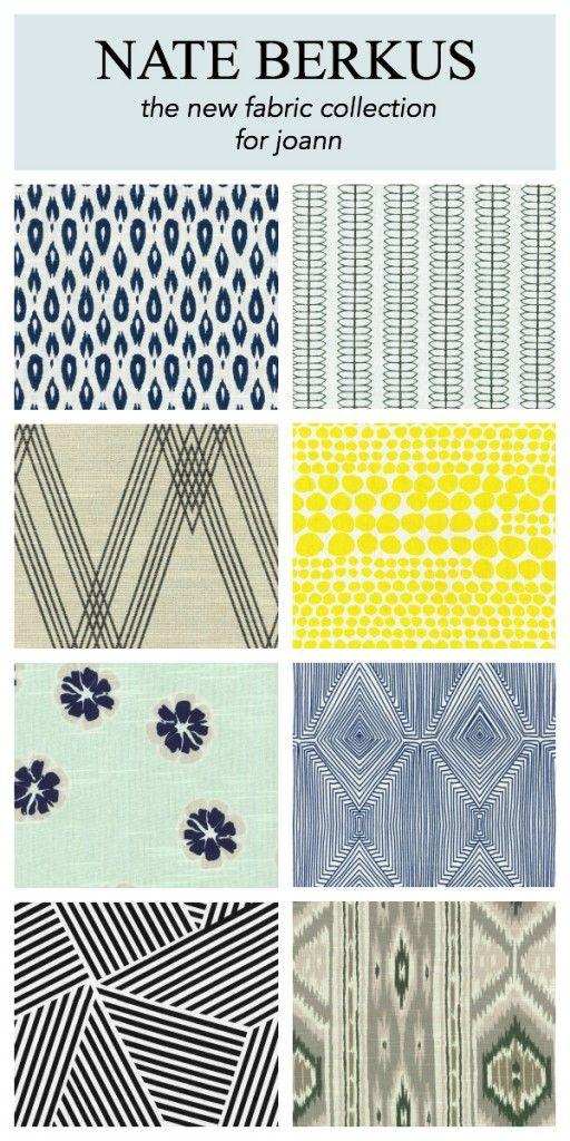 I totally love #nateberkus - NEW Home Decor Fabric - more pics on the blog.  www.ItsOverflowing.com