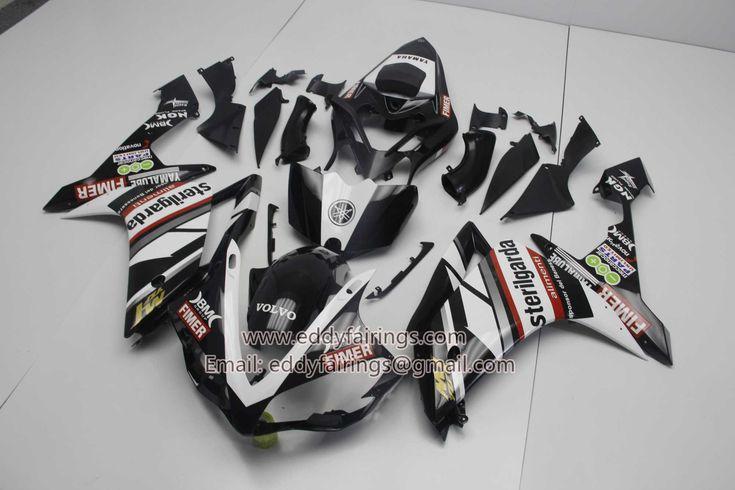 2007-2008 YZF-R1 Yamaha Sterilgarda 2010 Livery Black Motorcycle Fairing Kit