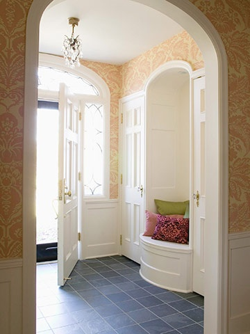95 best images about home ideas on pinterest hidden for Entrance hall ideas