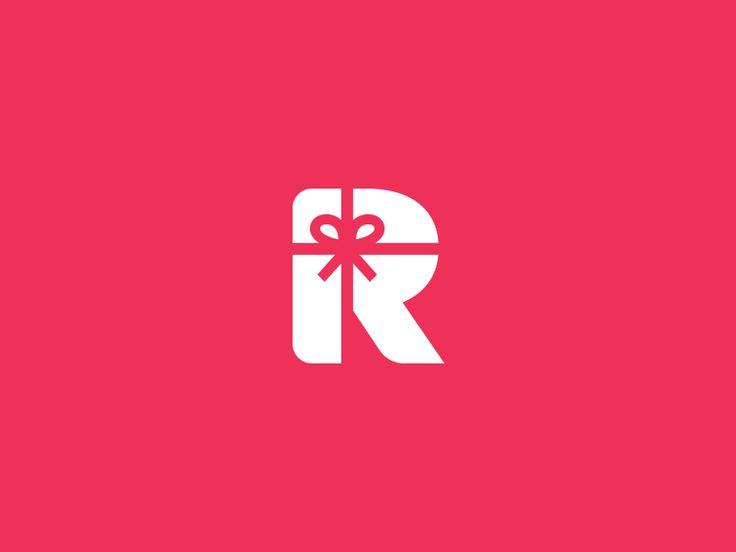 R  Gift Logo / Mark by Aditya Chhatrala #Design Popular #Dribbble #shots