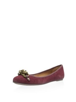 79% OFF CK Jeans Women's Raya Flat (Red)