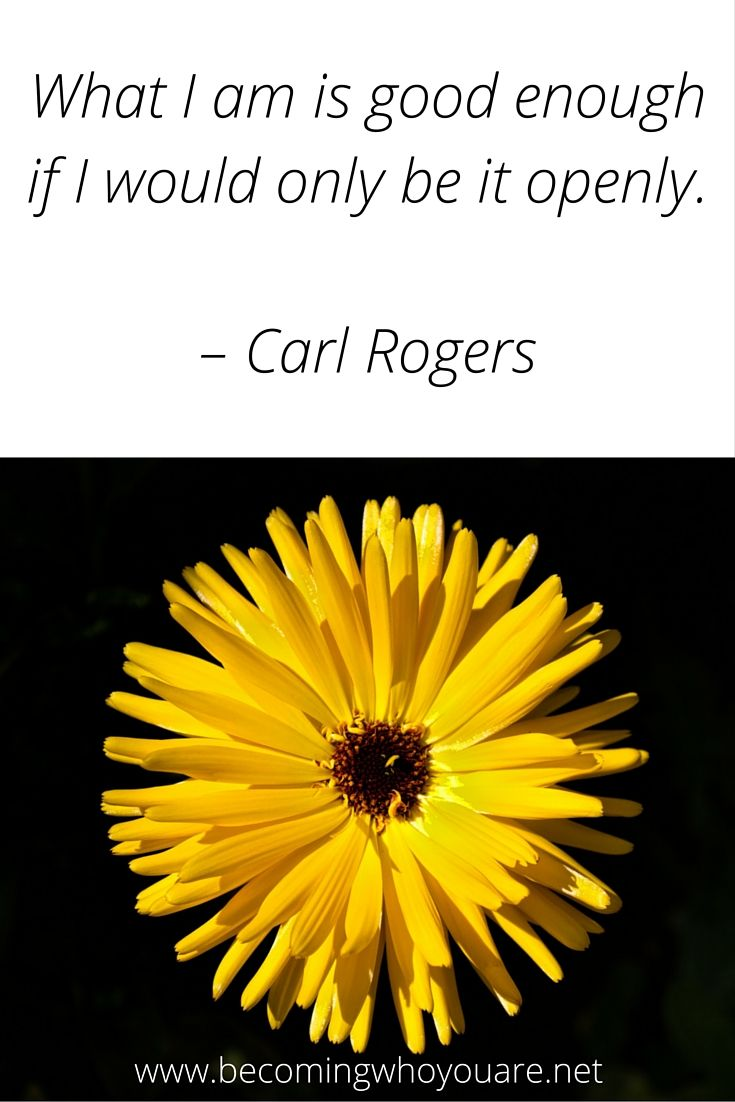 Love This Beautiful Quote From Carl Rogers
