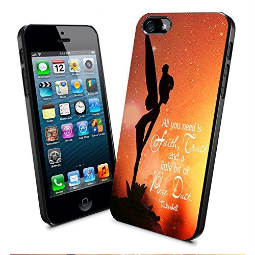 Tinkerbell Quote Galaxy All You Need Is a Little Pixie Dust Iphone and Samsung Galaxy Case (iPhone 5/5s Black) Generic http://www.amazon.com/dp/B00WS5JULK/ref=cm_sw_r_pi_dp_Ghfqvb1HNA771