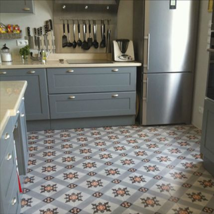 17 best images about carreaux ciment on pinterest plan de travail mosaics - Cuisine carreau de ciment ...