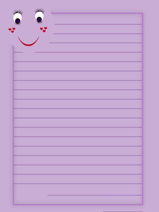 Dltk custom writing paper