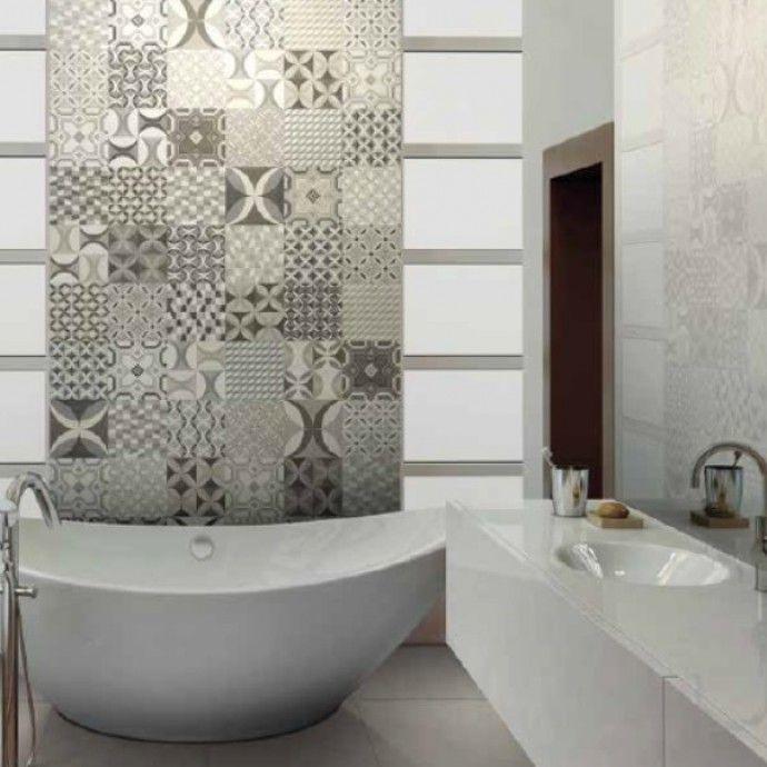 Cementine in bicottura 20x20 bath - Cementine bagno ...