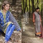 Khaadi Cambric Autumn Eid Ul Azha Collection 2014