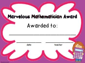 FREE end of the year awards for kids- kids can also vote on who deserves what award with a cute voting form.