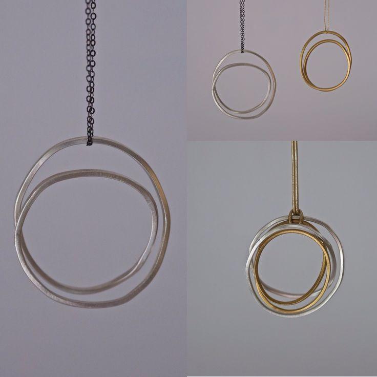 Pendants silver & gold