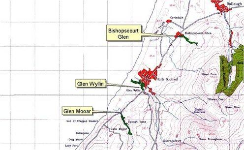 Bishopscourt, Glen Wyllin, Glen Mooar