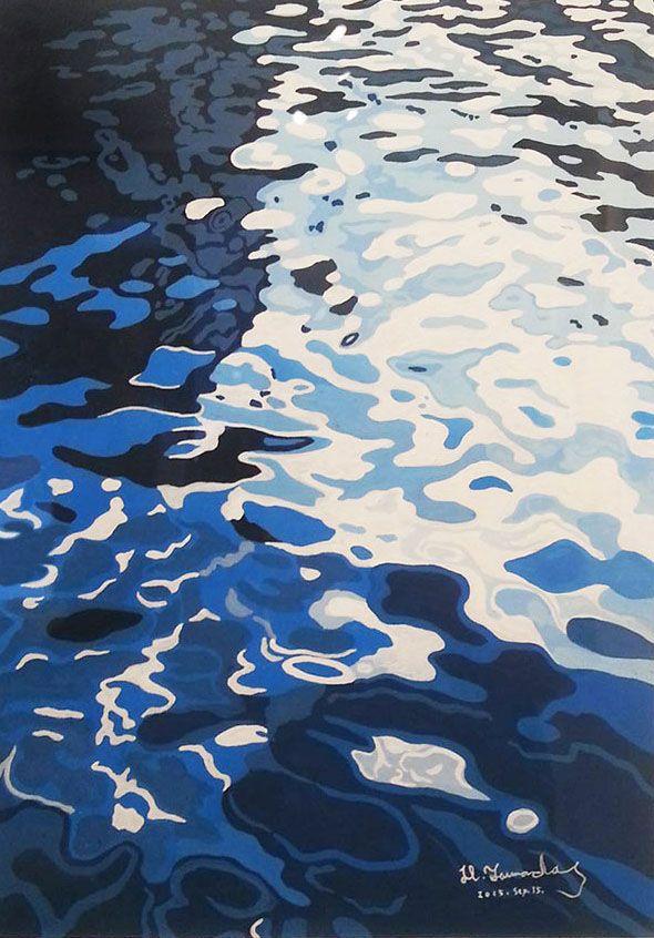 2015.09 Exhibition [ minima ] art works Tokyo aoyama on Illustration Served