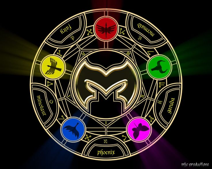 power ranger symbols mystic force - Google Search