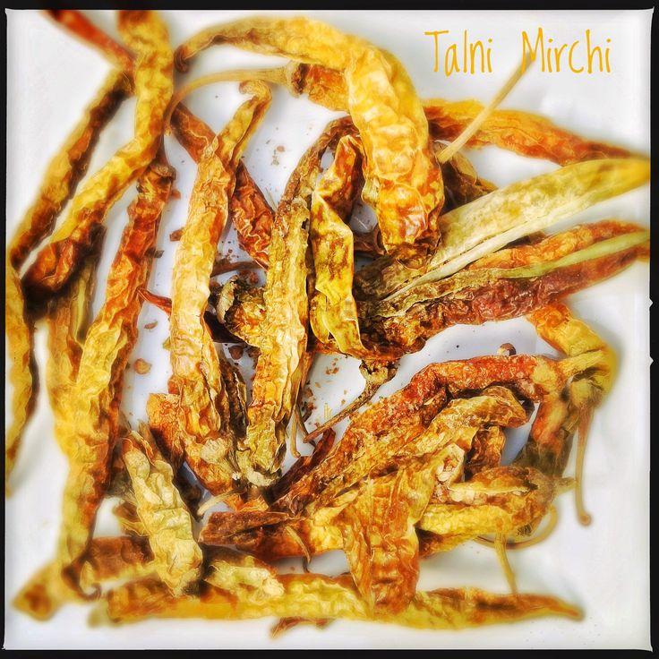 Spices: Talni Mirchi | Dried Stuffed Chillies