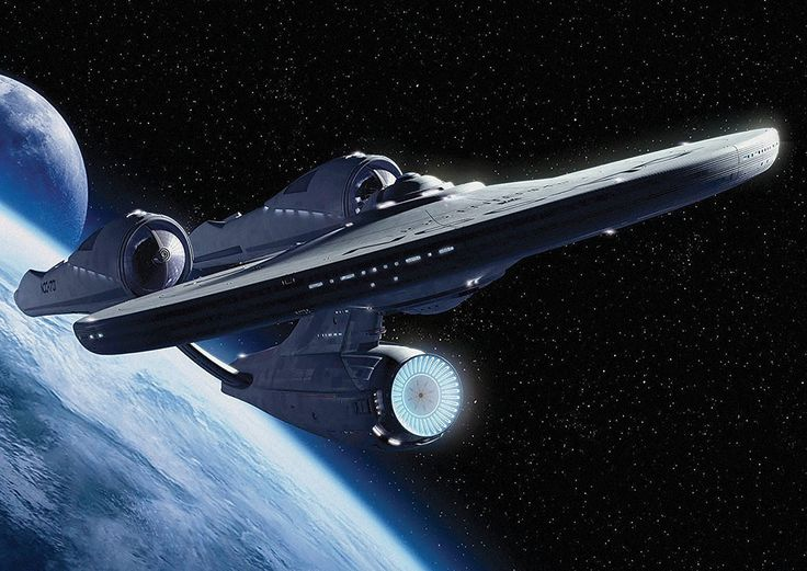 USS ENTERPRISE NCC 1701 STAR TREK SPACE POSTER (A1(841X594MM)): Amazon.co.uk: Kitchen & Home