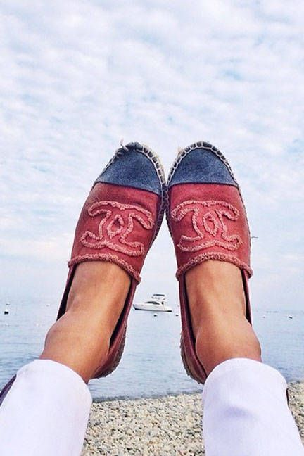 18 Must-Have Espadrilles For Spring - Best Designer Spring Espadrilles - Elle Love Chanel - Shoes - Boat