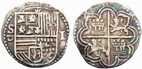 Moneda de 1 Real de Plata.