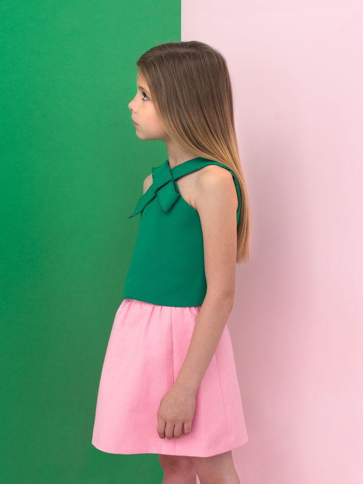 Spring Summer 2015 |SEÑORITA LEMONIEZ | green & pink...amazing combination!!