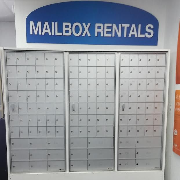 * Why choose a private mailbox? Your mail is private, your mail is safe and secure, change of address, and it has a professional appearance. *What are some benefits of having a private mailbox? Privacy, security, reliability, convenience, full-service package receiving,mobility, and rent a mailbox with a street address. * You have the ability to choose from 3 different sizes small medium and large. * Prices starting at $15.00 a month. * Free months available.
