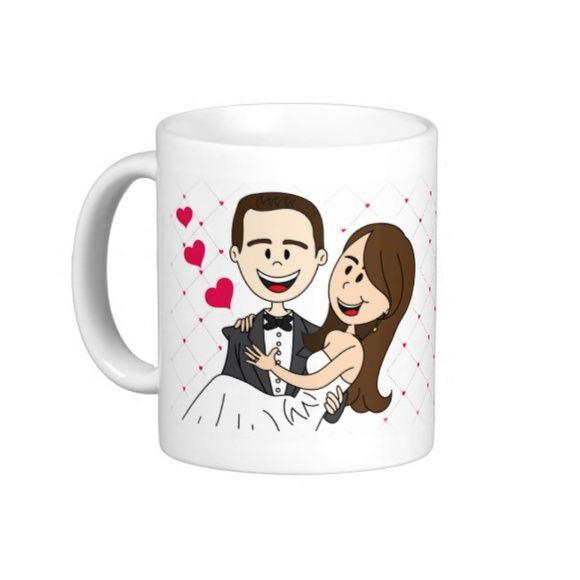 """Caneca Personalizada """"Nosso casamento"""""""