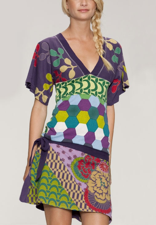 Desigual dress Jesica green M - Born2Style - Online Fashion Store