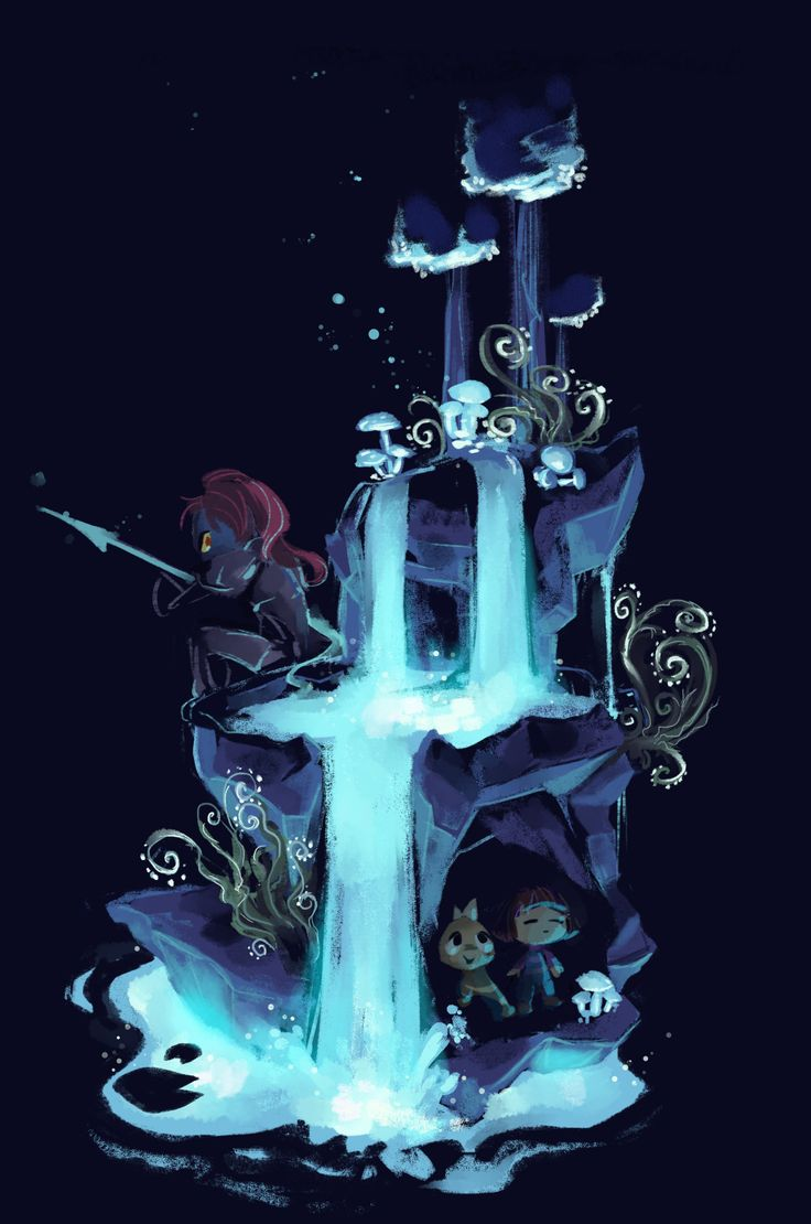 Waterfall & Ruins, my two favorite areas. Which, coincidentally, have two of my favorite boss monsters!