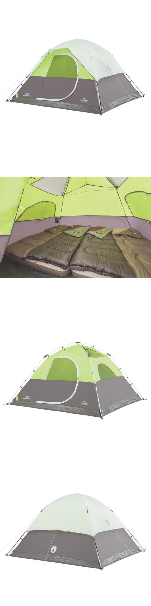 Other Camping Sleeping Gear 16040: Coleman Aspenglen Instant Dome 6 Person Tent BUY IT NOW ONLY: $146.42