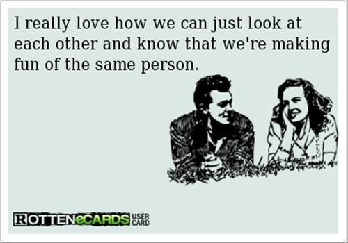 rotten ecards | rotten ecards # love # look at each other # lol