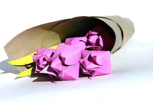 origami flowes
