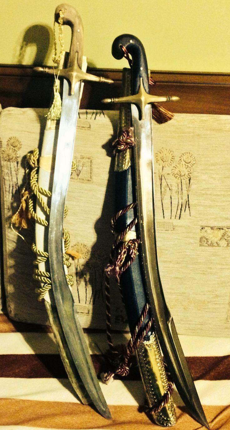 Ottoman kilij swords of mine