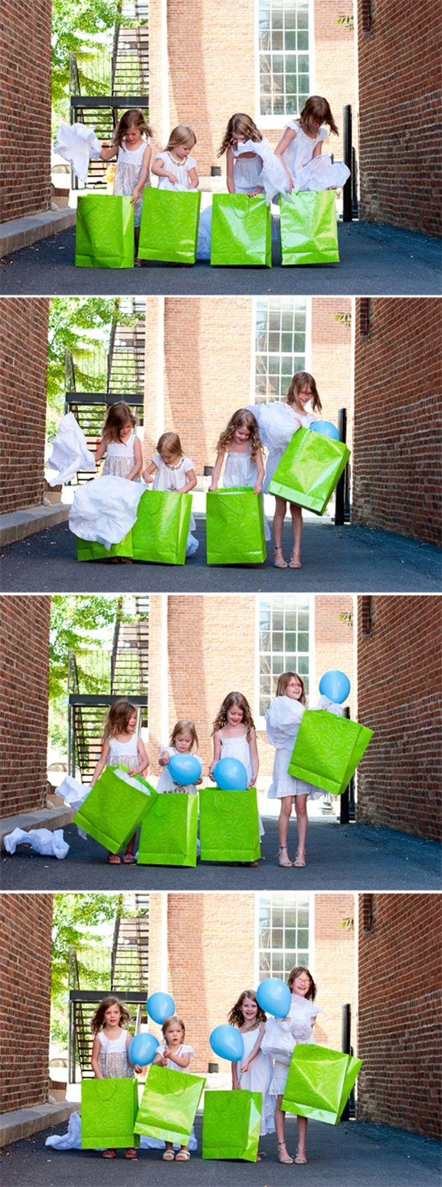 Find a fun way for your kids to announce your pregnancy.