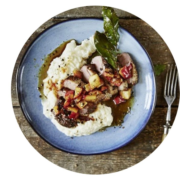 #MondayMeals   For this weeks recipe we have gone with a winter warming duck breast with apples and celeriac mash, get your recipe at www.interceramica.co.uk/recipes   #MondayMeal #Recipe #RecipeIdeas #RecipeInspiration #Neff #Cooking #Cook #Cooks #CookingwithNeff #Meal #MealPlanning #MealPlans #MealIdeas #MealInspiration #DinnerIdeas #TeaInspiration #Tea #Dinner #DuckRecipe