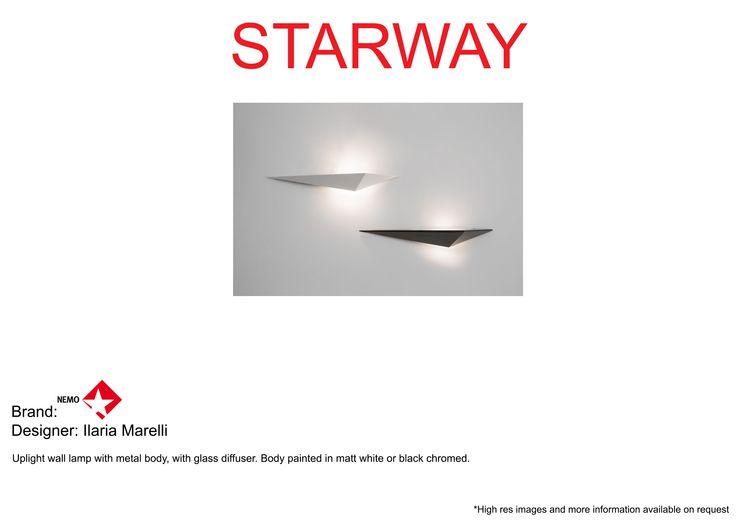 #Nemo #nemo.cassina #IlariaMarelli #Starway #wall lamp #truedesign
