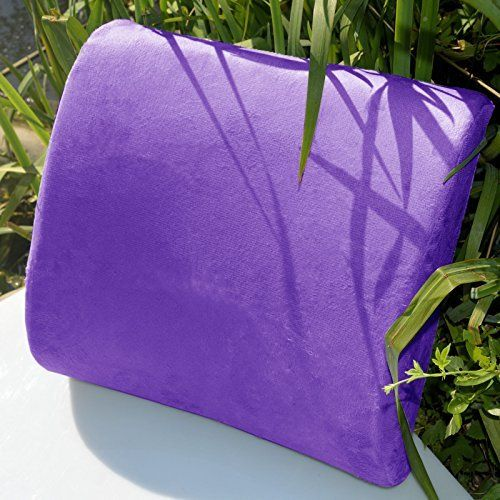 Memory Foam Lumbar Cushion Travel Pillow Car Flight Seat Home Chair Back Support *** Continue to the product at the affiliate link Amazon.com.