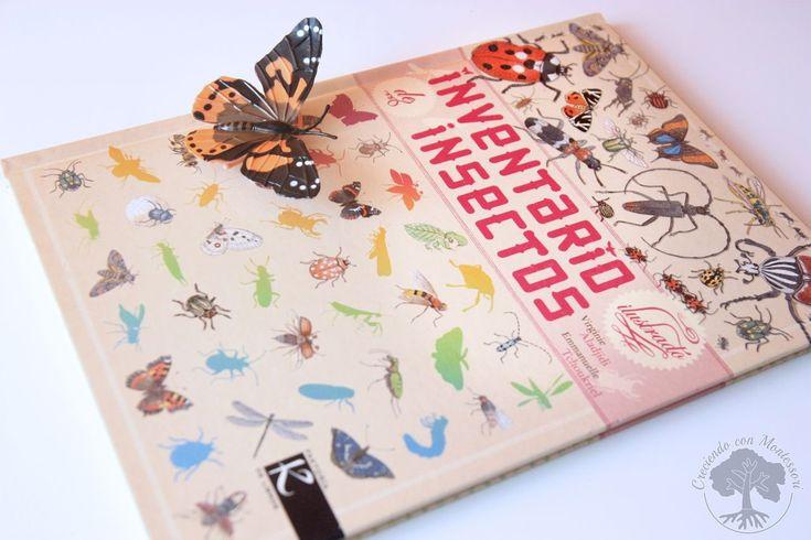 Inventario Ilustrado de los Árboles y los Insectos – Libros Montessori Friendly –