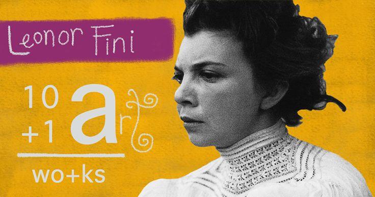 The art of Leonor Fini 10+1 Artworks Youtube channel TRECE LUNAS Cover art by Rita Ro