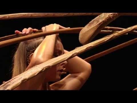 Balance goddess: Lara Jacobs Rigolo at TEDxEdmonton #amaluna #cirquedusoleil