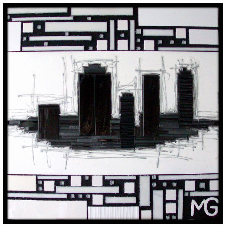 GLAM CITY * SOLD * [42x42]