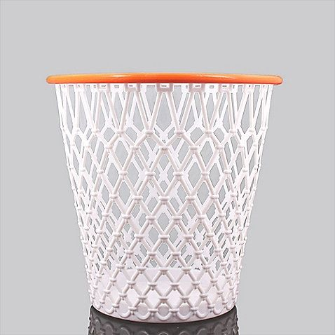 Shoot and score with this fun wastebasket. Perfect for child's, sports lover's or any room in your home.
