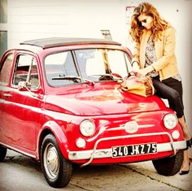 322 Best Images About Fiat500 & Women On Pinterest