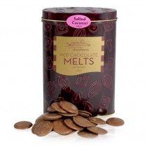 YARRA VALLEY CHOCOLATES Hot Chocolate-Melts-Salted Caramel 250g