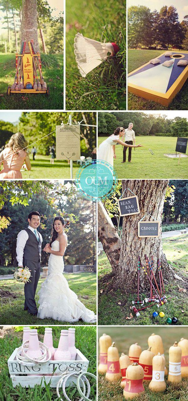 Animer votre mariage avec des jeux traditionnels en plein air Quelles astuces pour organiser votre mariage sur http://yesidomariage.com