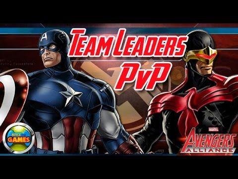 Team Leaders Avengers Alliance - Capitão América e Cyclops #1