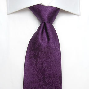Hawes & Curtis Men's Deep Purple Paisley Silk Tie  The perfect designed silk tie to suit all occasions and events in your diary. Choose this Hawes and Curtis tie for a smart, professional finish to your outfit or as the perfect gift for a loved one. Made from 100% silk in a standard length. This tie is only suitable for dry cleaning.