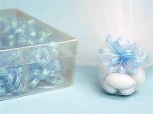 Bomboniere Bow - Baby Blue