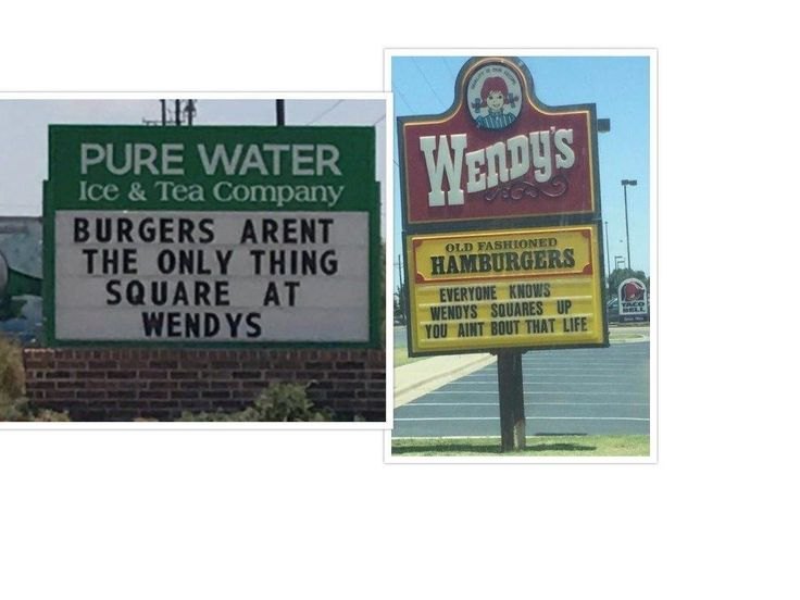 Wendy's is known for its clever comebackson social media, and now one location is taking them to the streets.