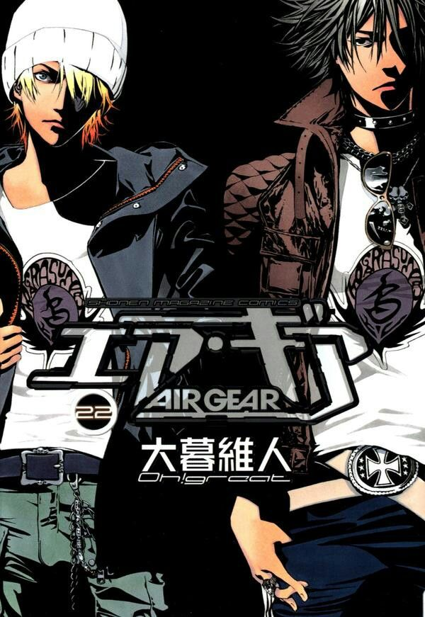 I miss Air Gear (/T3T)/ Need to reread this~