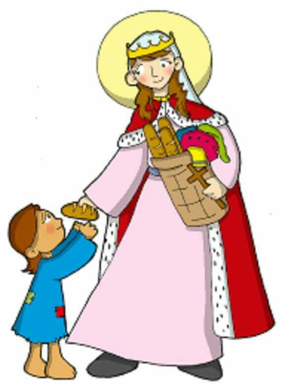 SANTA ISABEL DE HUNGRÍA  Patrona de  Bogotá, Tercera orden de San Francisco, Orden Teutónica, Enfermeras, Arquidiócesis de Bogotá