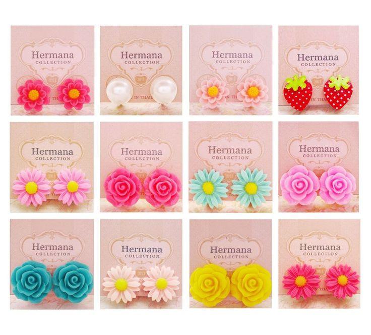 511 best Clip On Earrings for Kids Girl images on ...