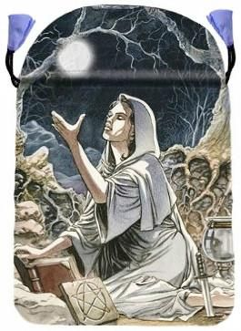 "Drawing Down the Moon Tarot Bag by Lo Scarabeo 6"" x 9"" DBDRAD"